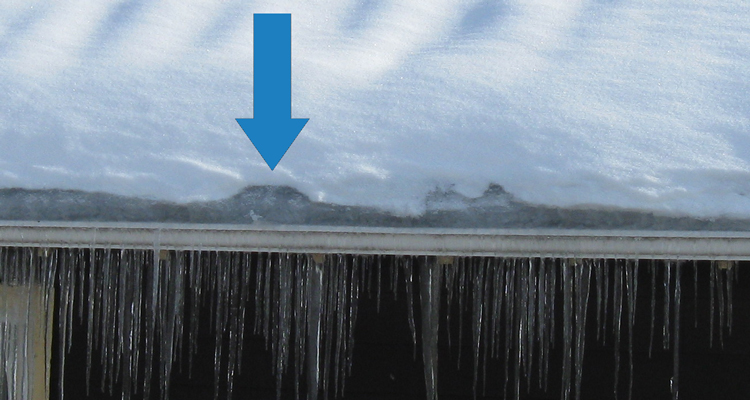 Spotting an Ice Dam